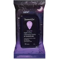 Summer's Eve Night-Time Sensitive Skin Cleansing Cloths, Lavender 32 ea (Pack of 2)