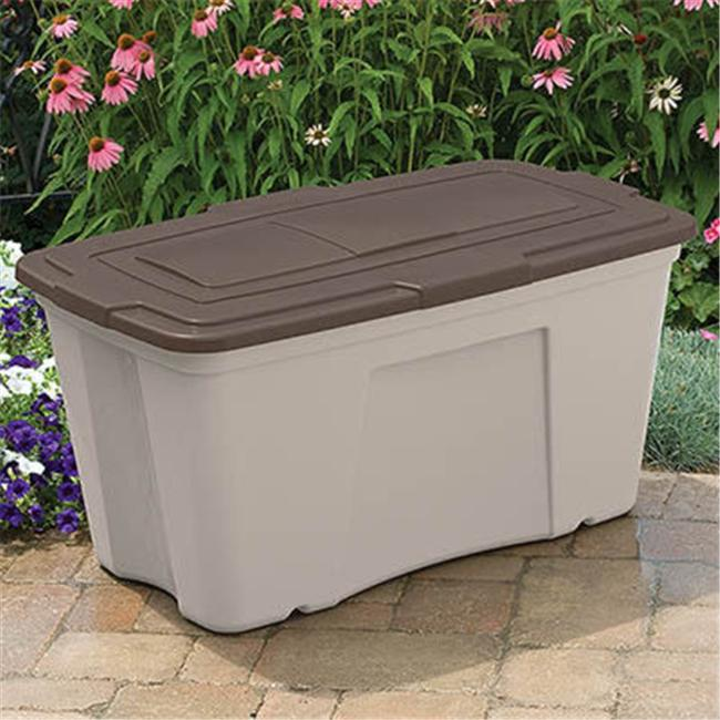 Suncast B501824 50 gal. Outdoor Storage Bin - 3 Pack