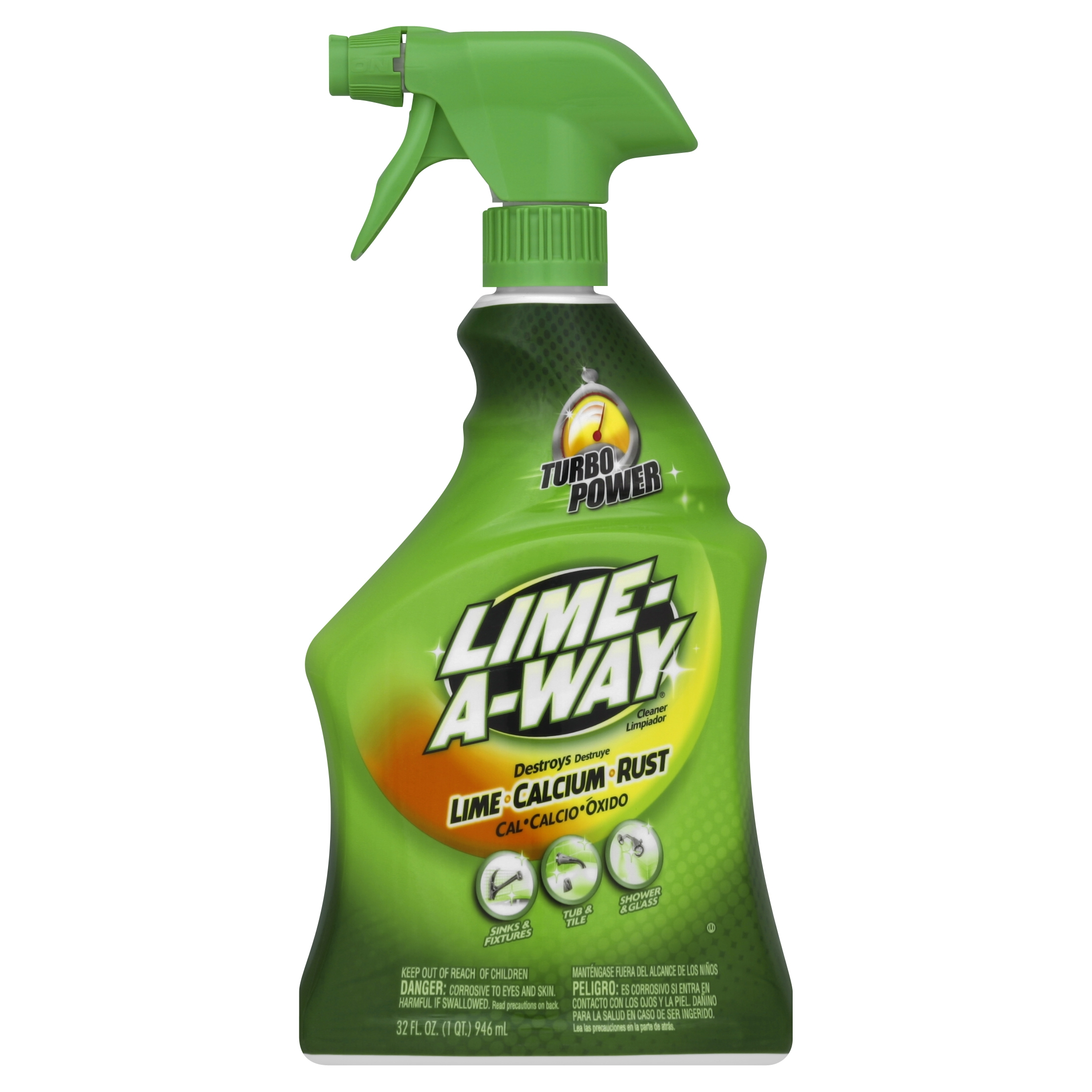 Lime-A-Way Lime Calcium Rust Cleaner, 32 Ounce