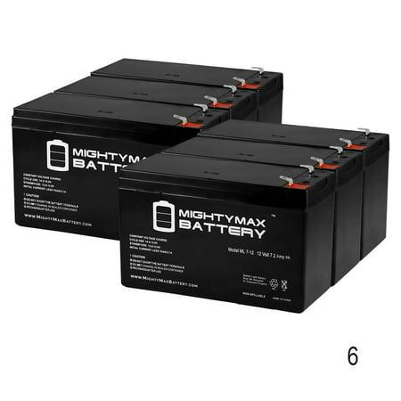 12V 7AH Sealed Lead Acid (SLA) for 385ci Portable Fish Finder - 6 (Best Fish Finder On The Market 2015)