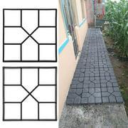 Paving Pavement Mold, Pavement Concrete Mould,Fosa Paving Pavement Concrete Mould Stepping Stone Mold Garden Lawn Path Paver Walk
