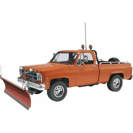 Revell GMC Pickup with Snow Plow Plastic Model Kit - Architecture Model Kits
