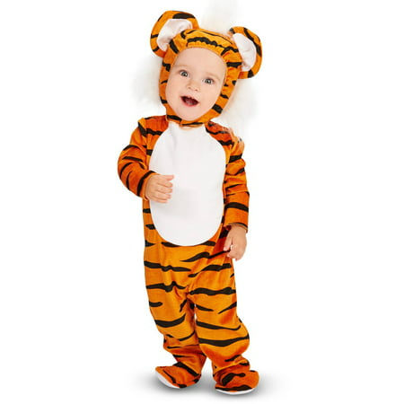 Lil' Tiger Infant Halloween - Men Tiger Costume