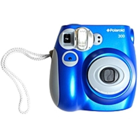 Polaroid 300 Instant Film Camera, Blue (Best Polaroid Camera Of All Time)