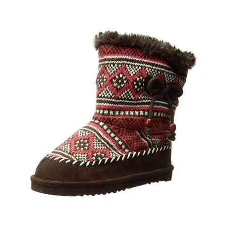 Kids Western Chief Girls Makena Knee High Pull On Snow -