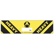 LabelMaster Warehouse Self-Adhesive Label, 8 x 2, HEAVY, 500/Roll -LMTHVY501