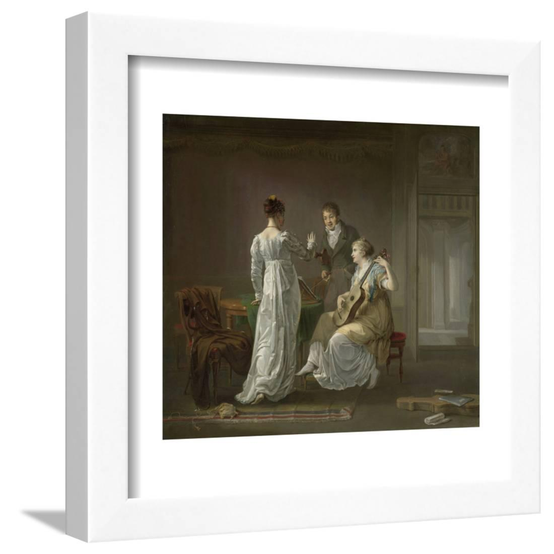 Wall Hanging Lesson Plan: Music Lesson Framed Print Wall Art By Louis Moritz