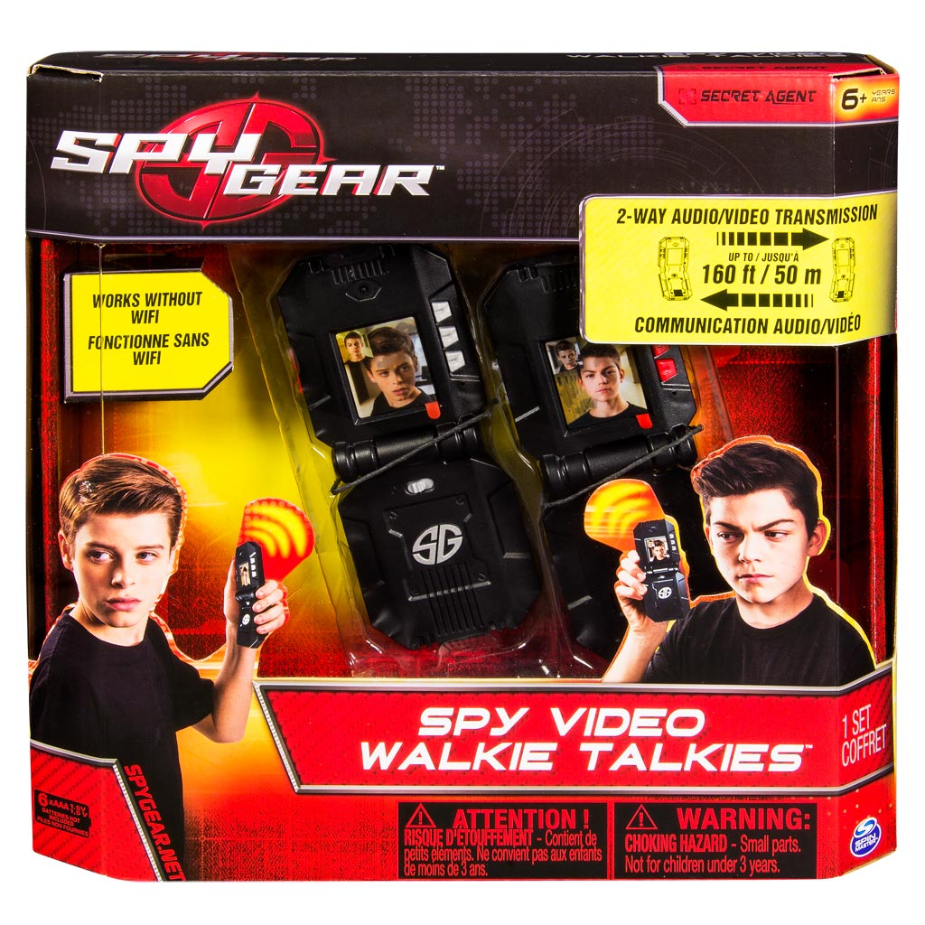 Spy Gear, Video WalkieTalkies