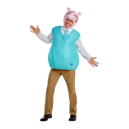 Men's Daddy Pig Costume - Quick Halloween Costume Ideas For Work