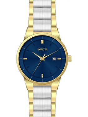 Invicta Men's Specialty Quartz Blue Dial Two Tone Stainless Steel Watch 29474
