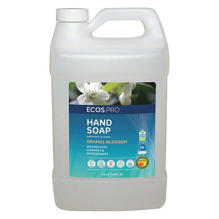 ECOS PRO Liquid Hand Soap,1 gal.,Orange Blossom -