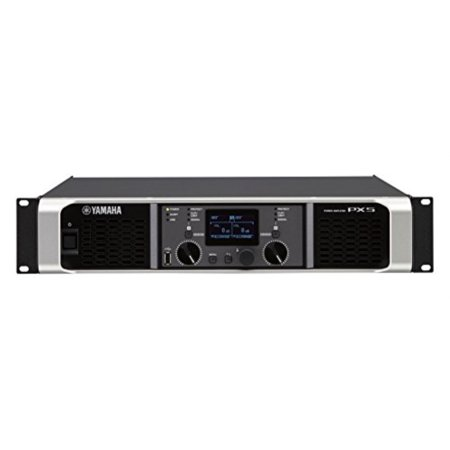 yamaha px5 dual channel 2x800w lightweight power amplifier w/ dsp Yamaha Car Amplifiers