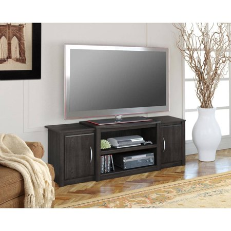 Ameriwood Home Cohen Tv Stand With Media Storage For Tvs Up To 60  Wide  Espresso
