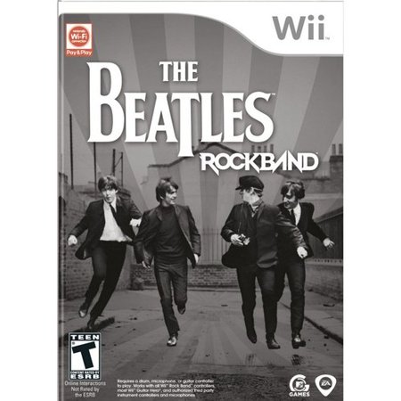 The Beatles: Rock Band (Game Only) - Nintendo Wii
