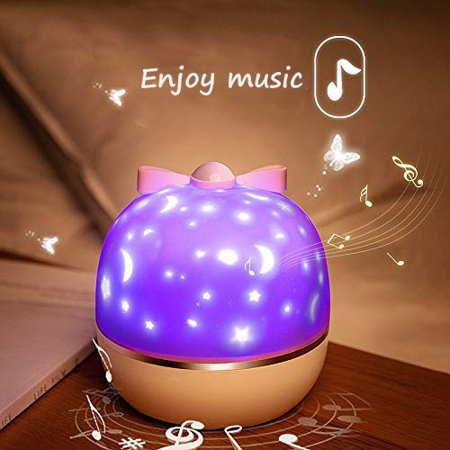 Night Light for Kids, Baby Light Projector with Music , 6 Theme Colorful Projector for Girls Boys - image 4 of 8