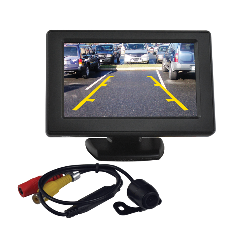 "Tview RV43C 4.3"" Tft Rear View Mirror Monitor With Backup Camera"