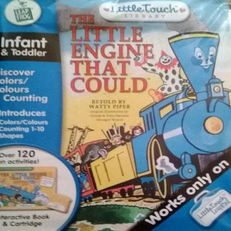LeapFrog LittleTouch LeapPad Educational Book: The Little Engine That Could