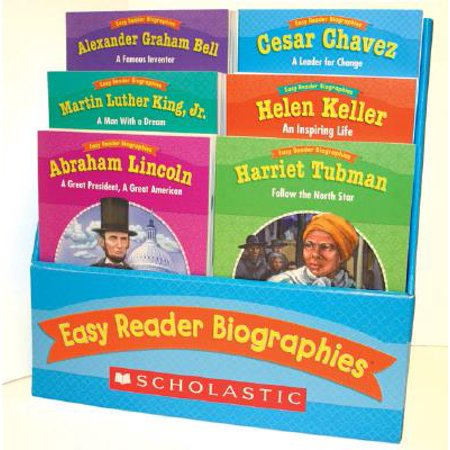Easy Reader Biographies : 12 Biographies That Help Students Learn to Read and Comprehend Key Features of