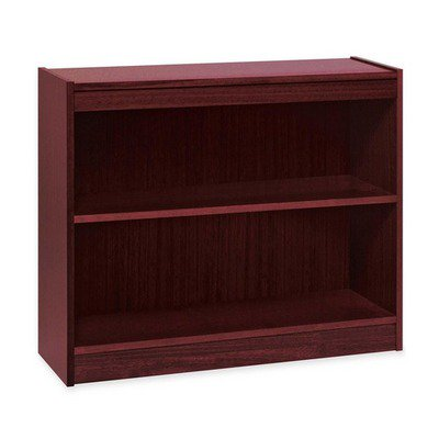 Lorell Panel End Hardwood Veneer Bookcase