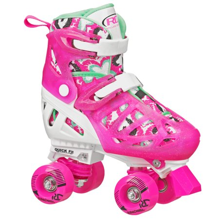 Flashing Roller Skates (Trac Star Youth Girl's Adjustable Roller)