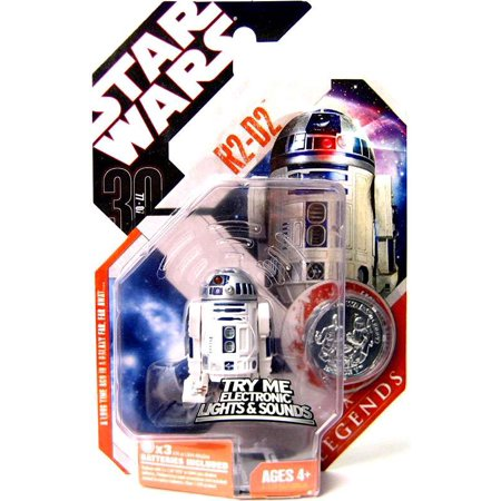 Star Wars Saga Legends 2007 30Th Anniversary R2 D2 Action Figure