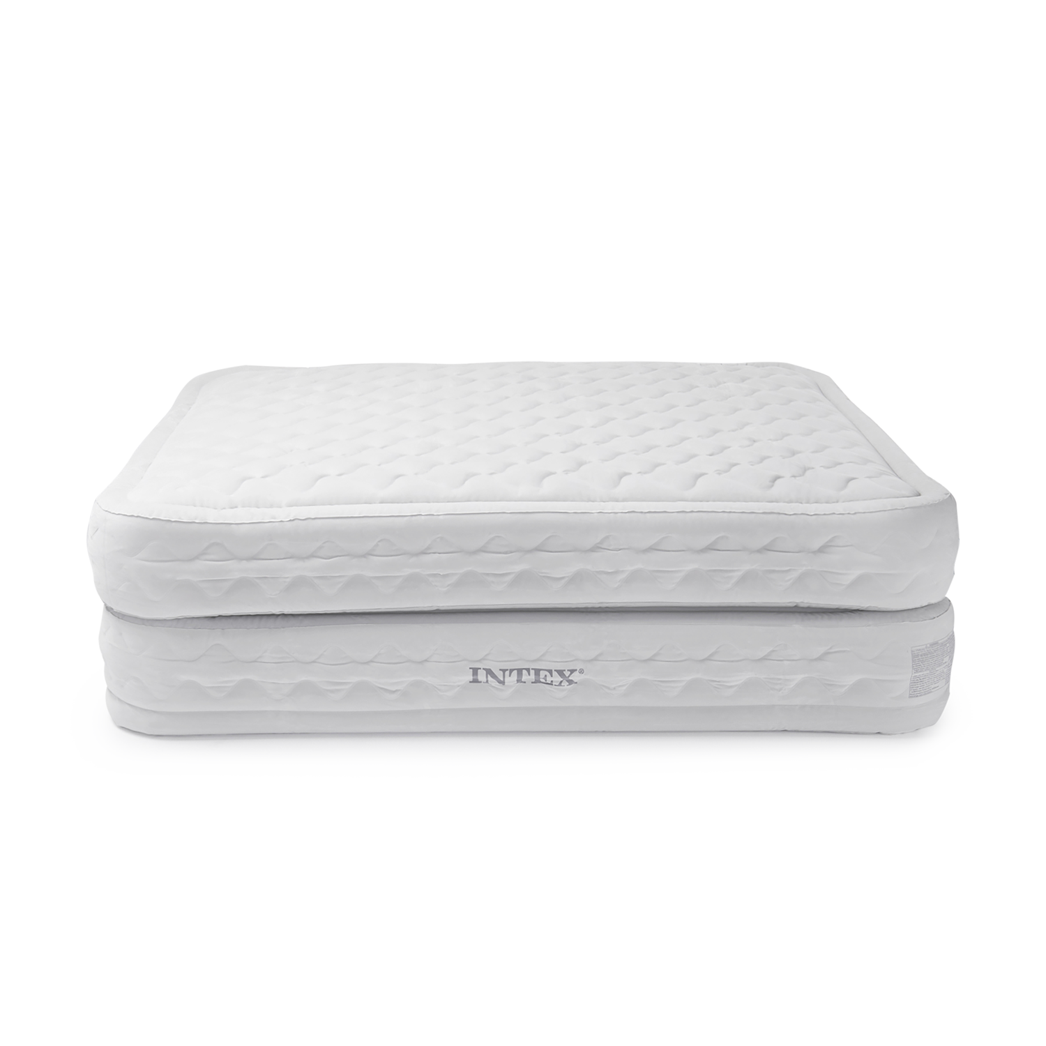 Intex 20 Queen Dura Beam Supreme Air Mattress With Built In Electric Pump Walmart Com Walmart Com