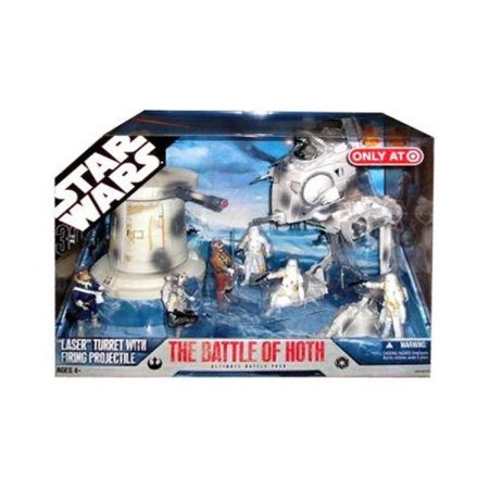 Star Wars The Battle Of Hoth 30Th Anniversary Saga 2007 Exclusive Action Figure Mega Pack