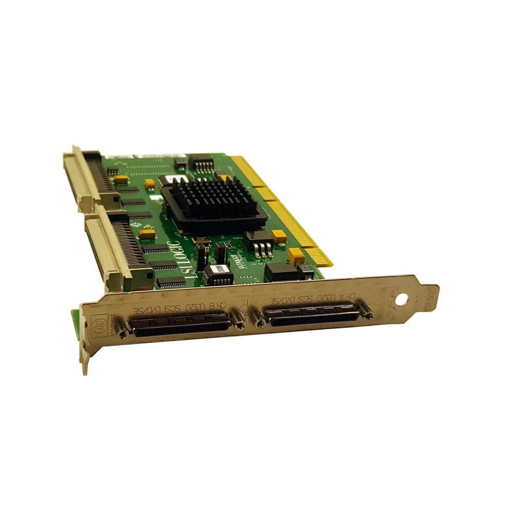 LSI LSI22320BCS-HP A6961-60011 PCI-X Dual Channel SCSI Adapter Card U320 Refurbished