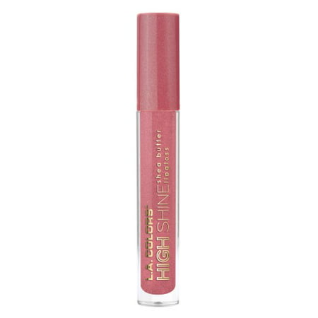 (2 Pack) LA Colors High Shine Lipgloss, Playful, 1
