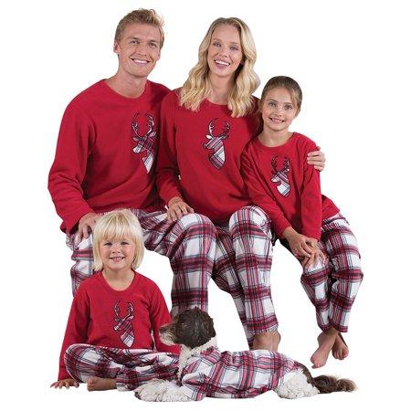 Zxzy Home Pajamas Suit Matching Family Pajamas Set Christmas Sleepwear Suit