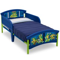Delta Children Teenage Mutant Ninja Turtles Plastic Toddler Bed, Blue