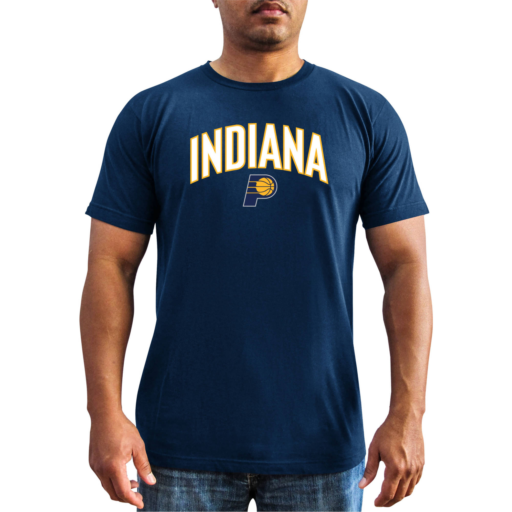 NBA Indiana Pacers Big Men's Short Sleeve Basic Tee