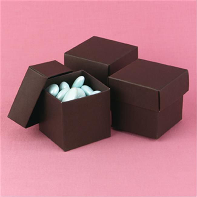 Hortense B.  Hewitt 90213 Espresso Mix & Match Favor Boxes