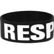 Emmure Men's Respect Rubber Bracelet Black