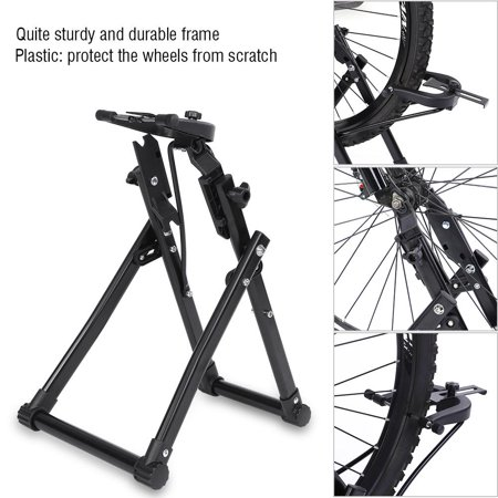 Anauto Bike Bicycle Wheel Truing Stand Maintenance Cycling Accessory Parts, Bicycle Wheel Stand, Bike Wheel Truing