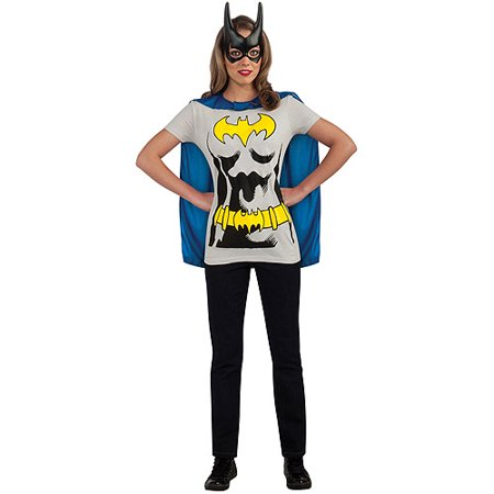 Batgirl Sassy Adult Halloween Shirt Costume (Batgirl Costume Halloween)