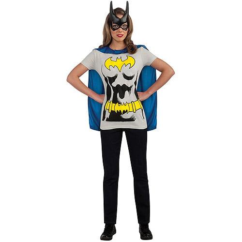 Batgirl Sassy Adult Halloween Shirt Costume