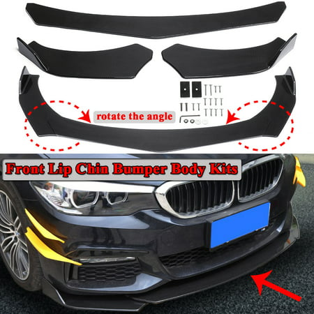 Carbon Front Bumper Lip Spoiler Splitter Body Kit For BMW F10 F30 F32 F36 F80 M3 F82 (Bushmaster Carbon 15 M4 Carbine For Sale)