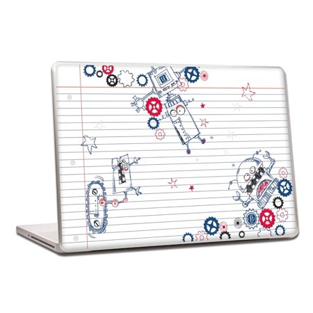 Pierre Belvedere 076650 Removable Skin for 13-inch Laptops - Robots