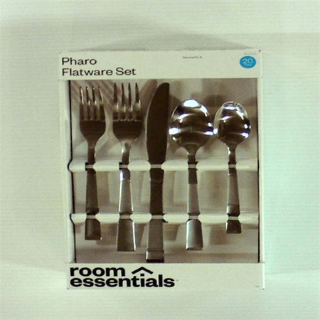 Pharo Silverware Set 20-pc. Stainless Steel - Room Essentials™