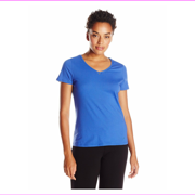 Nautica Sleepwear Women's Knit Solid Short Sleeve Tee, Gulf Coast Blue, Size SX