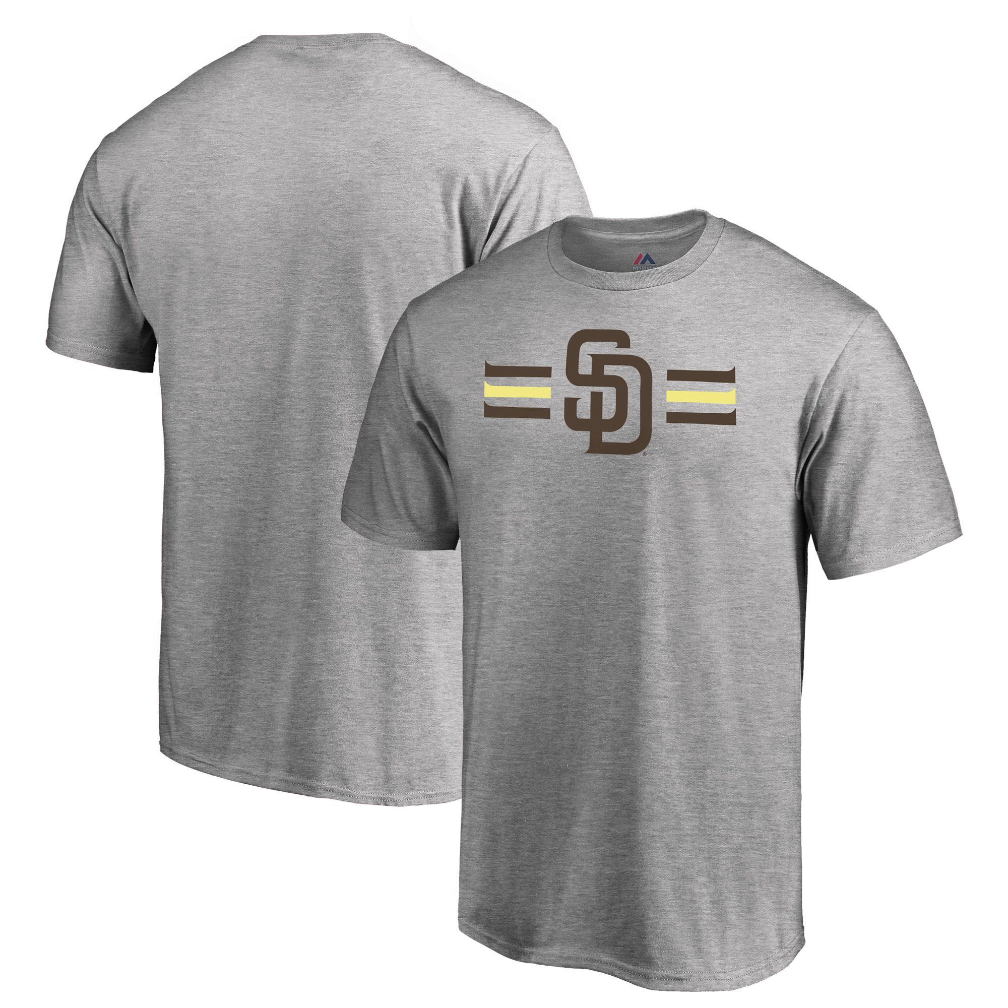 San Diego Padres Majestic 2018 Players' Weekend T-Shirt - Heather Gray