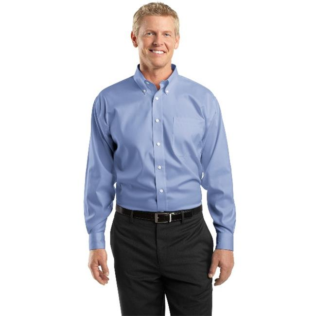 Red House® Tall Non-Iron Pinpoint Oxford Shirt. Tlrh24 Blue 4Xlt - image 1 de 1