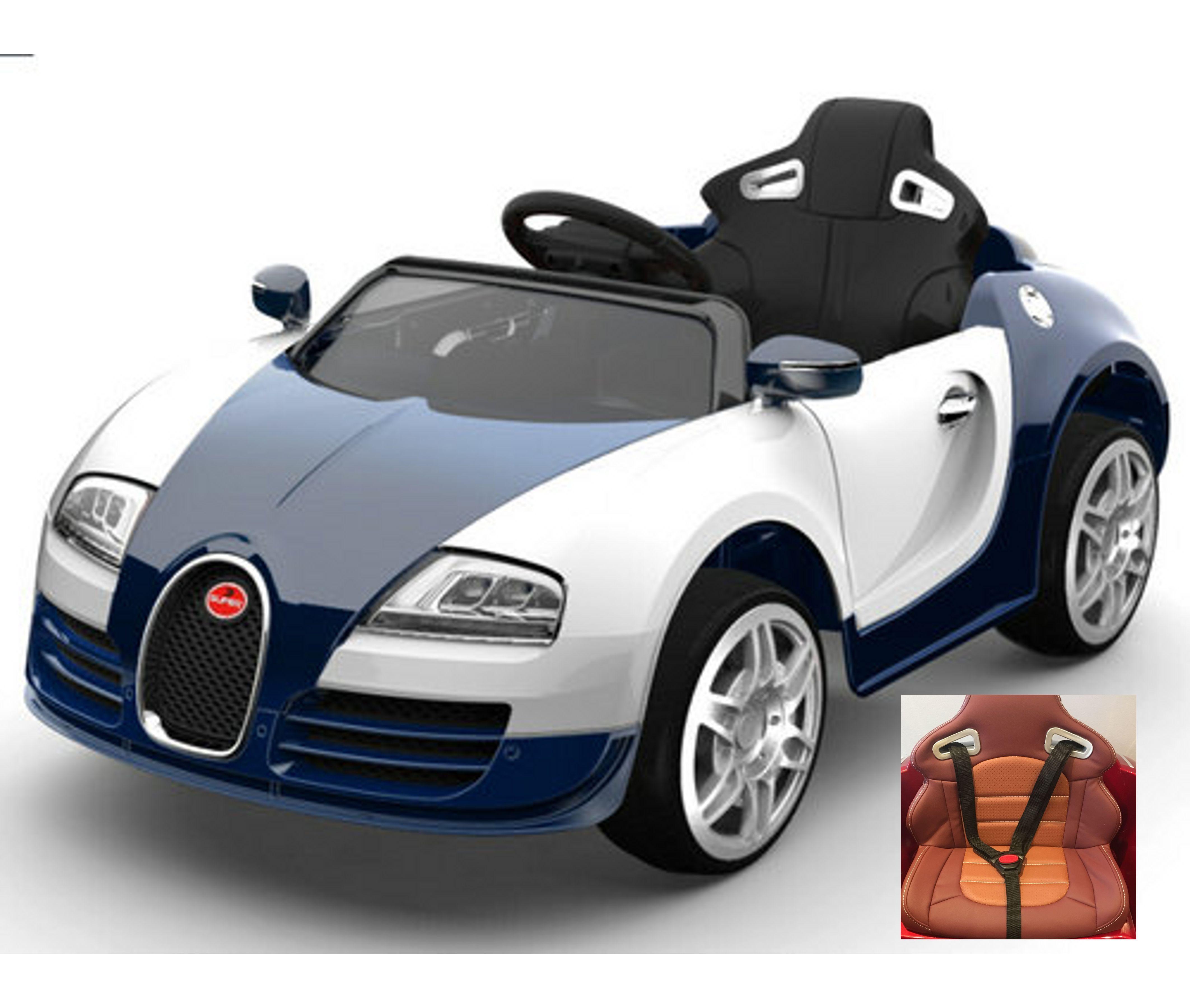 Bugatti Veyron Roadster: 12v Battery Powered Premium Convertible Bugatti Veyron