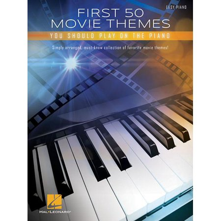 First 50 Movie Themes You Should Play on Piano (Paperback) - Halloween Theme Piano Cover