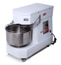 Hakka Commercial Dough Mixers 50 Quart Stainless Steel 2 Speed Spiral Mixers-DN50B(220V/60Hz,3 Phase)