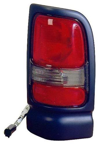 Fits 1994-2002 Dodge Ram Pickup w//o Spo Driver Side Left Tail Light Assembly