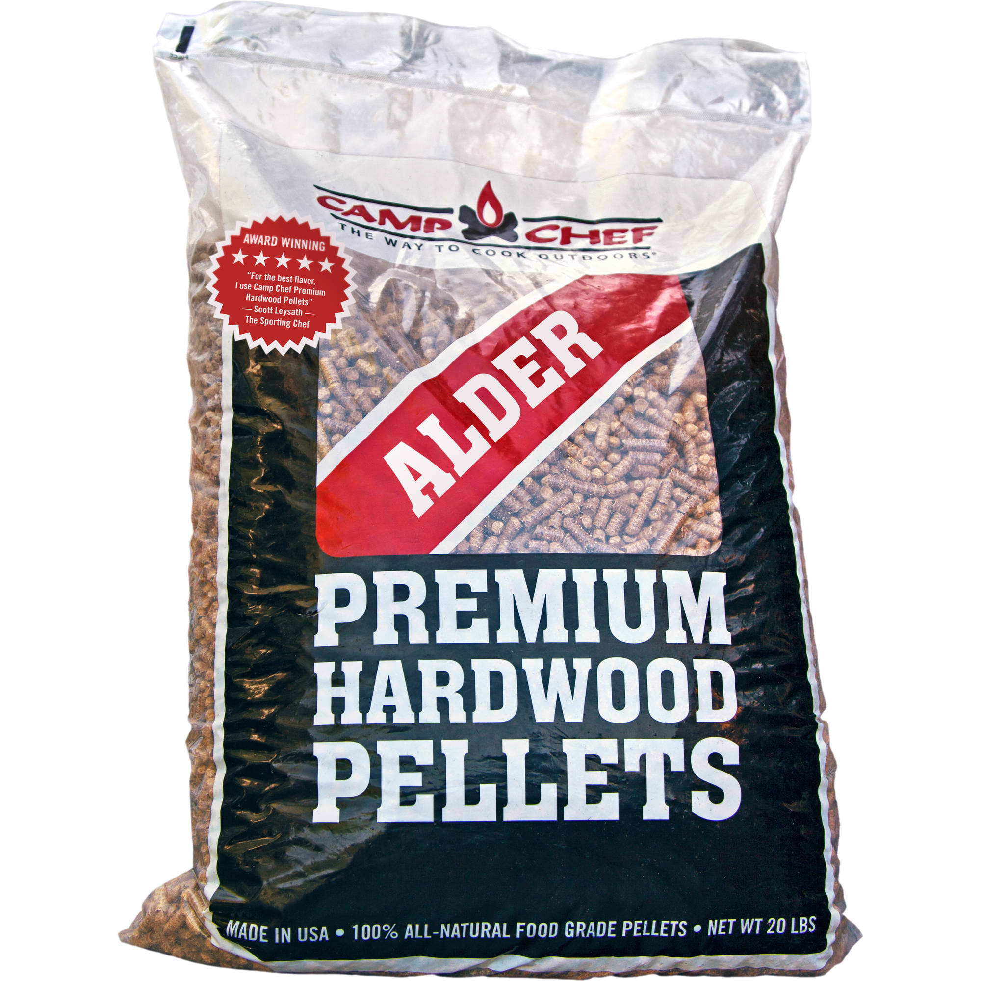 Camp Chef Alder wood Smoke Pro Premium Hardwood Pellets