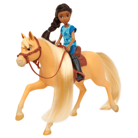Spirit Riding Free Small Doll & Horse Set - Pru and Chica Linda - Chica Show