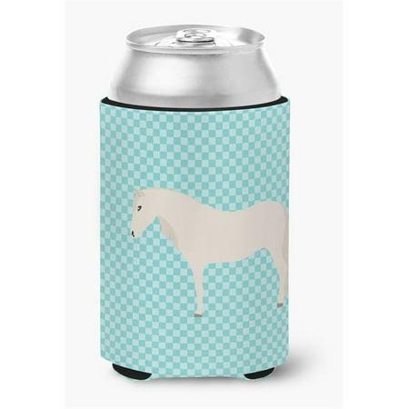 Paso Fino Horse Blue Check Can or Bottle Hugger - image 1 de 1